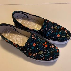 Rifle Paper Co x Keds Slip on Sneakers